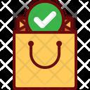 Buy Bag All Item Check Check Bag Icon