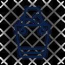 Line Bag Shopping Icon