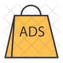 Shopping Bag Bag Advertising Advertising Icon