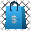 Shopping Bag Market Ecommerce Icon
