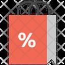Shopping Bag Discount Bag Discount Icon