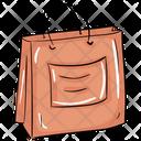 Shopping Bag Handbag Jute Bag Icon
