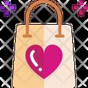 M Shopping Bag Icon
