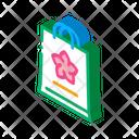 Flower Shop Bag Icon