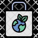 Bag Canvas Bag Eco Friendly Icon