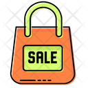 Sale Discount Shopping Bags Icon