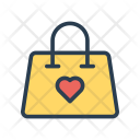 Shopping Bag Favorite Icon