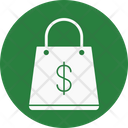 Commercial Shopping Bag E Commerce Icon