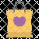 Shopping Bag Love Gift Icon