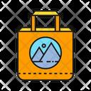 Shopping Bag Logo Merchandise Icon