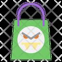 Shopping Bag Halloween Buy Icon