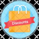 Shopping Bag Discount Bag Shopping Discount Icon