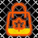 Autumn Bag Fall Icon