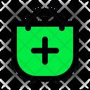 Shopping Bag Add Icon