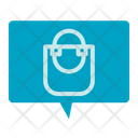 Shopping Bag Message Shopping Bag Comment Icon