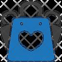Favorite Shopping Bag Icon