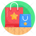 Shopping Bags Purchase Bags Favourite Shopping Icon