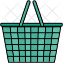 Shopping Basket Bucket Icon