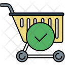 Confirm Shopping Basket Icon