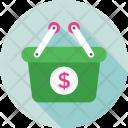 Basket Shopping E Icon