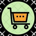 Shopping Basket Cart Bucket Icon
