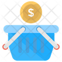 Shopping Basket Shopping Cart Bucket Icon