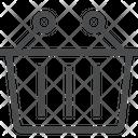 Shopping Basket Bucket Icon