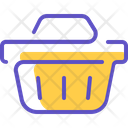 Shopping Basket Basket Chart Icon