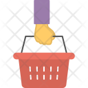 Shopping Basket Grocery Icon