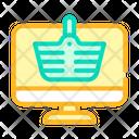 Internet Shopping Color Icon