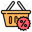 Shopping Basket Container Icon