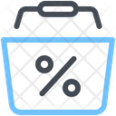 Discount Shopping Cart Icon