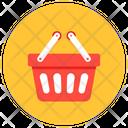 Shopping Basket Shopping Bucket Grocery Basket Icon