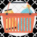 Shopping Basket Ecommerce Icon