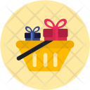 Shopping Basket Gifts Icon