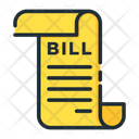 Shopping Bill Bill Payment Invoice Icon