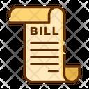 Shopping Bill Icon