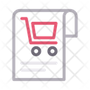 Cart Shopping Report Icon