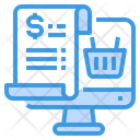 Shopping Bill Icon