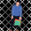 Shopping Boy Leisure Time Buying Icon
