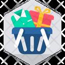 Shopping Bucket Icon
