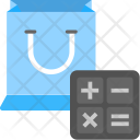 Shopping Calculation Sale Icon