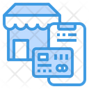 Store Payment Credit Card Icon