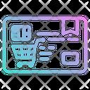 Shopping Card Icon