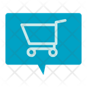 Shopping Card Message Shopping Card Comment Icon