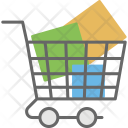 Shopping Push Cart Icon
