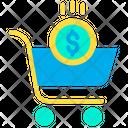Shopping Cart Trolly Basket Buy Cart Icon
