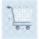 Shopping Cart Luggage Cart Luggage Trolley Icon