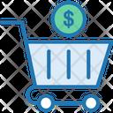 Shopping Cart Cart Dollar Cart Icon