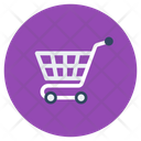 Shopping Cart Shopping Trolley Shopping Wheelbarrow Icon